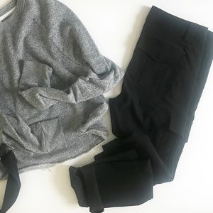 Express classic cargo pants, black size 4